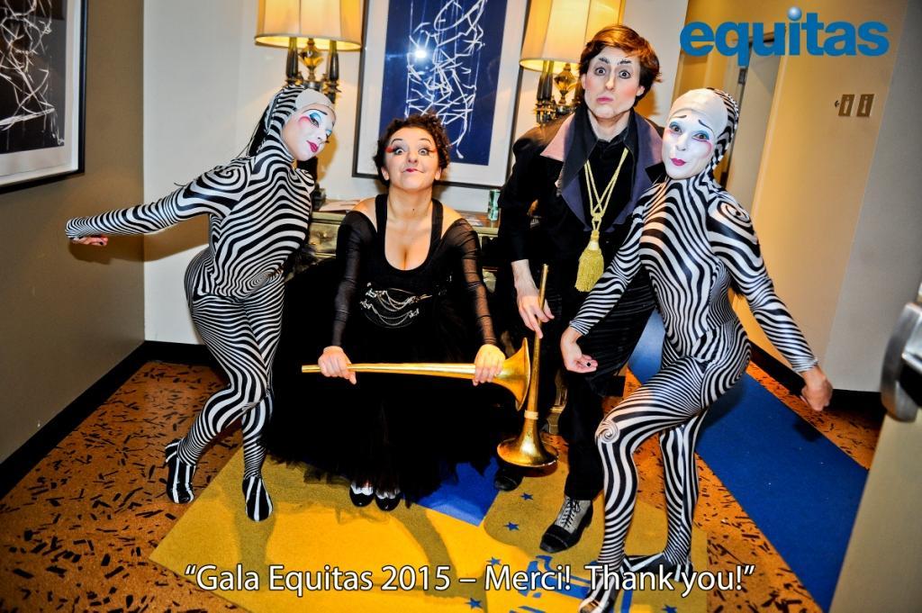 Le Gala Equitas 2015 au Cirque du Soleil
