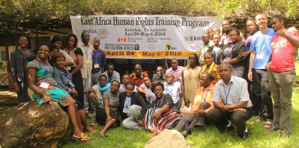 Programme de formation aux droits humains en Afrique de l'Est