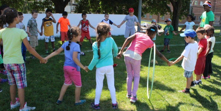 400 MONTRÉAL-NORD CHILDREN CELEBRATE PLAY IT FAIR! DAY WITH BOROUGH MAYOR CHRISTINE BLACK