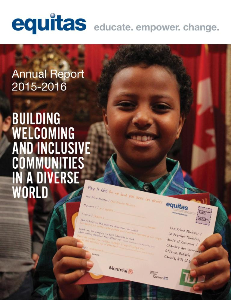 annual report equitas cover