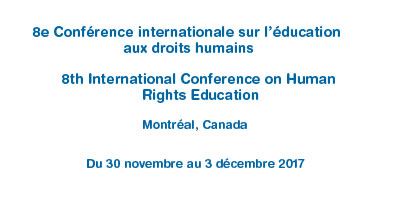 Bridging our diversities – An international forum to explore human rights education solutions to global challenges