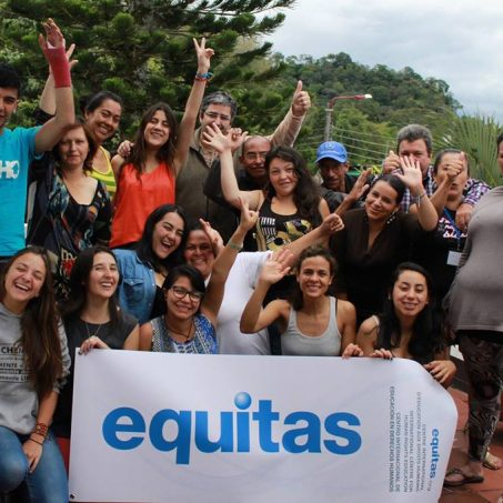 Partners in Colombia celebrate the human rights education projects