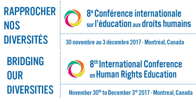 CALL FOR PROPOSALS – 8th International Conference on Human Rights Education in Montreal, Canada
