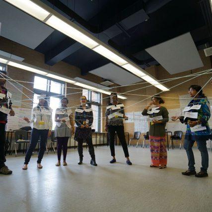 IHRTP participants in class