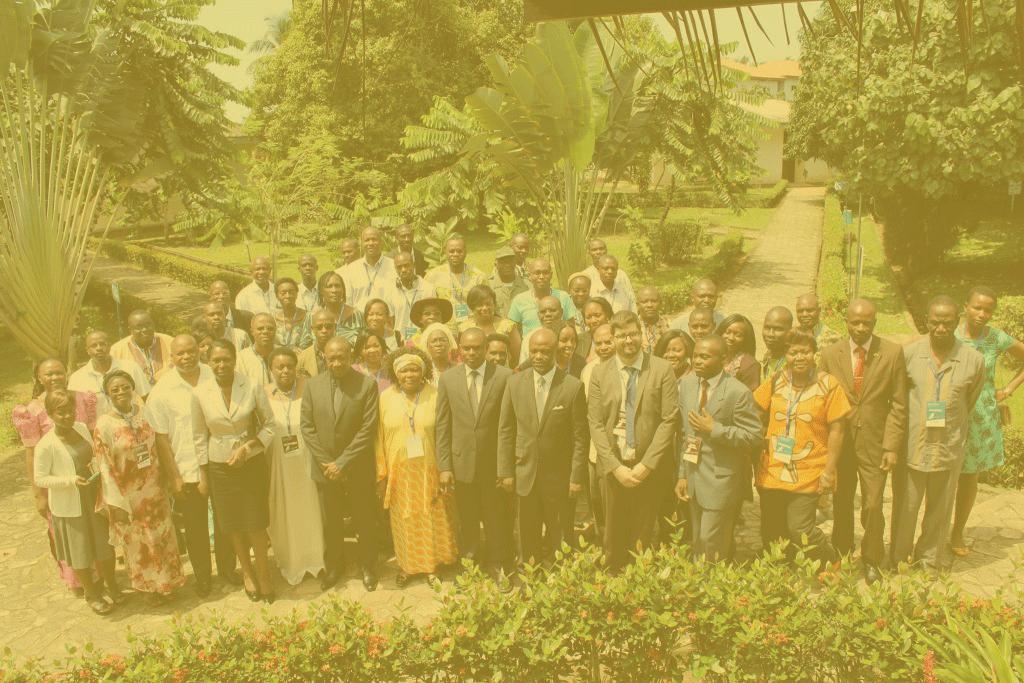 Groupe de participants à la formation Equitas en droits humains sur la prévention de la torture en Afrique francophone