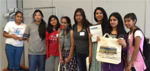 Young women participate in Equitas' youth projects in Surrey