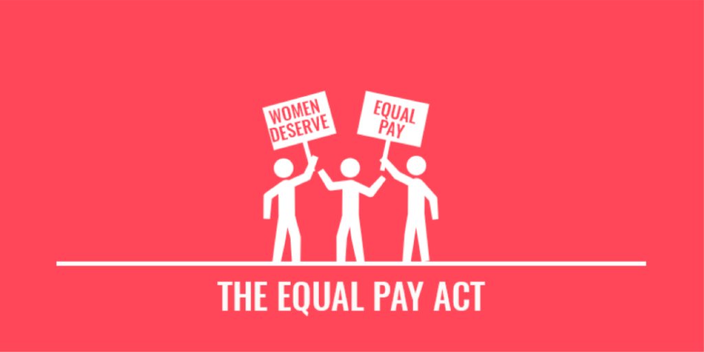 Essay on equal pay act