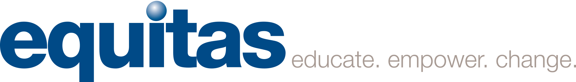 logo Equitas educate empower change