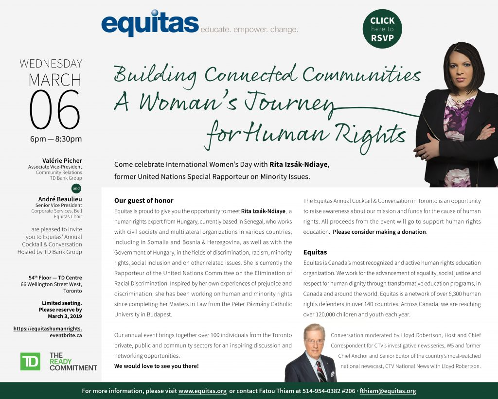 Building Connected Communities - A Woman's Journey for Human Rights