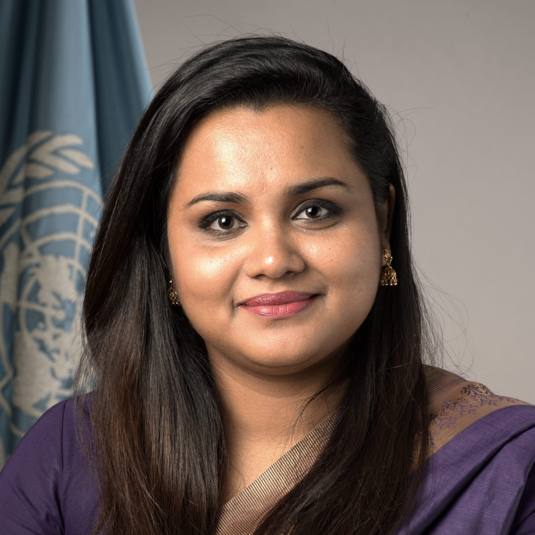 Portrait of Jayathma Wickramanayake, Youth Envoy.
