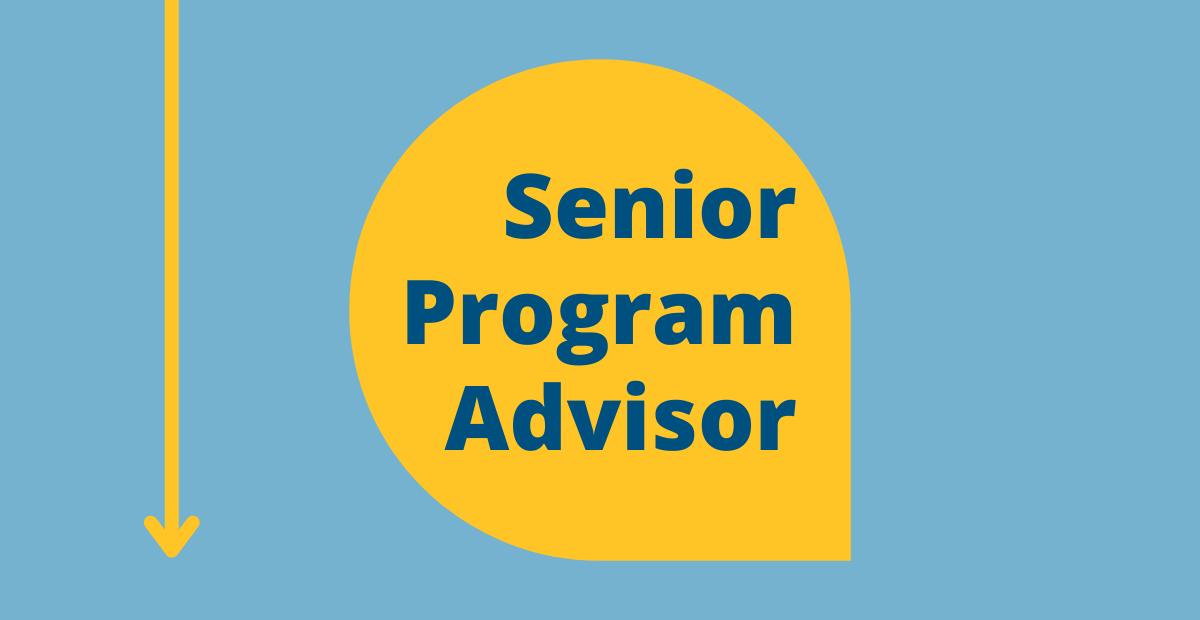 Senior Program Advisor