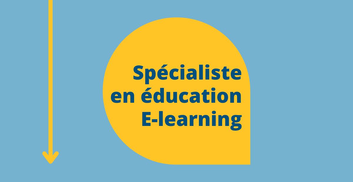 Spécialiste en éducation E-learning