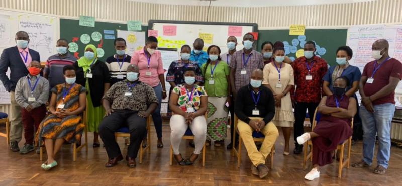 EAHRP 2021 participants, Tanzania.
